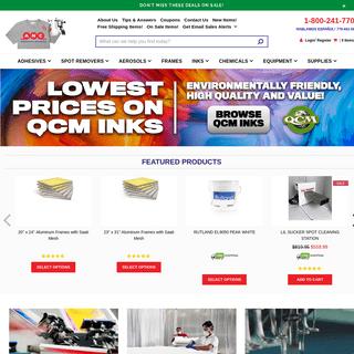 Screen Printing Supplies & Equipment - American Niagara