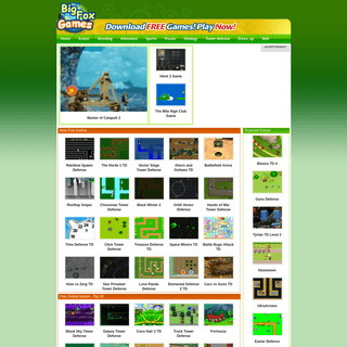 Bigfoxgames - Your Place To Play Free Games Online