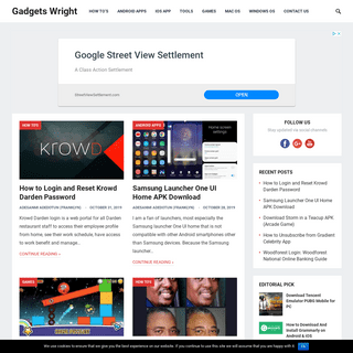 Gadgets Wright - Tech Guides, Products Reviews, and Marketing