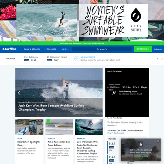 SURFLINE.COM - Global Surf Reports, Surf Forecasts, Live Surf Cams and Coastal Weather