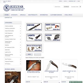 Kizlyar Knives Australia, Hand Made Russian Knives