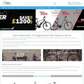 Electric Bike - Electric Bikes - eBikes Direct