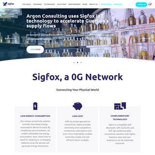 Sigfox - The Global Communications Service Provider for the Internet of Things (IoT)