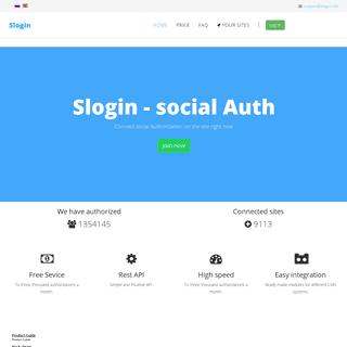 ArchiveBay.com - slogin.info - Home - Service social Auth