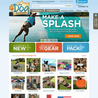 ArchiveBay.com - thedogoutdoors.com - The Dog Outdoors - Your Headquarters For Active Dog Gear & Unique Dog Products