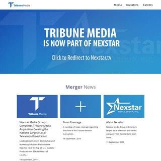 ArchiveBay.com - tribunemedia.com - Tribune Media -