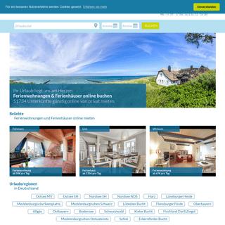 Ferienwohnungen & Ferienhäuser online buchen - Urlaub mit Trend-Ferienwohnung.de
