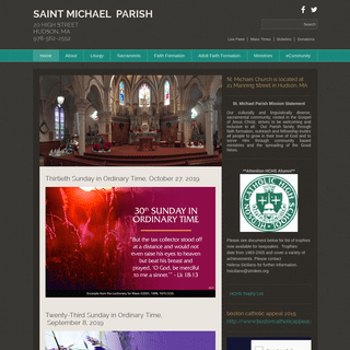 ArchiveBay.com - stmikes.org - Saint Michael Parish - Hudson, MA