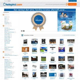 Kelepirci.com - Alışveriş ve ilan sitesi