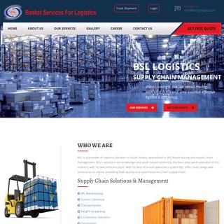 Basket Services For Logistics