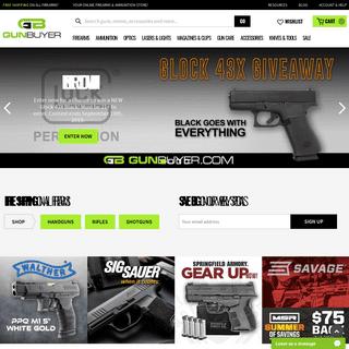 Welcome to Gunbuyer.com - Your Online Firearms, Ammunition & Accessories Store! - Gunbuyer