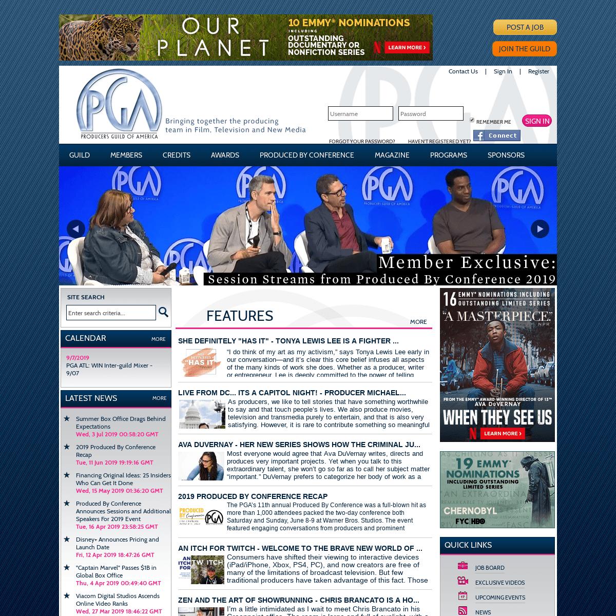 ArchiveBay.com - producersguild.org - Producers Guild of America
