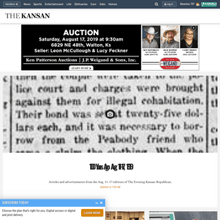 The Kansan - Newton, KS- Local News, Politics, Entertainment & Sports in Newton, KS
