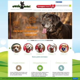 ArchiveBay.com - vigyelhaza.hu - Vigyél Haza Alapítvány, az Illatos úti kutyákért - Fogadj örökbe egy kutyát! - Vigyél Haza Alapítvány
