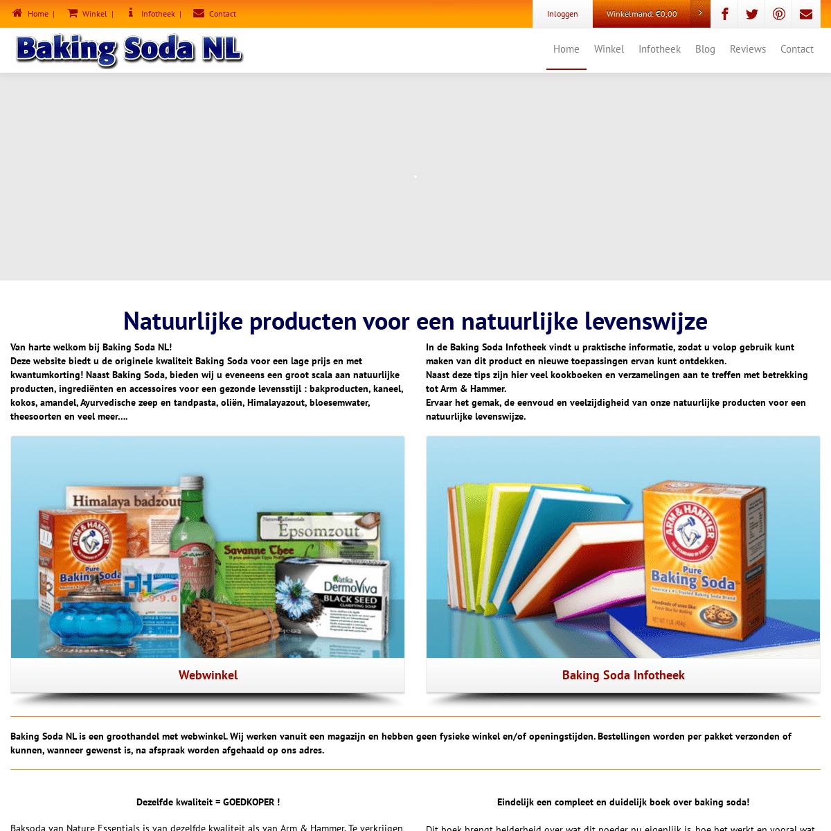 ArchiveBay.com - baking-soda.nl - Baking Soda NL - Grootste leverancier van baking soda in de Benelux