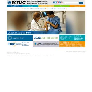 ECFMG - Home