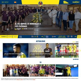 ArchiveBay.com - villarrealcf.es - Web oficial del Villarreal CF - Inicio