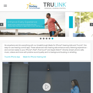 Hearing Aid App for iPhone, Apple Devices - TruLink