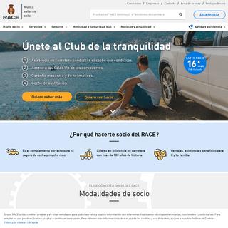 Servicios de asistencia, seguros, coches - Real Automóvil Club de España