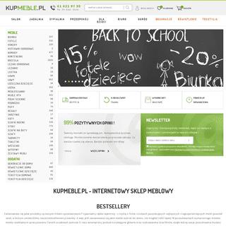 Internetowy sklep meblowy - Kupmeble.pl