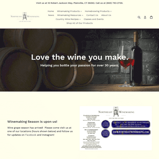 Northeast Winemaking - Everything you need to make wine at home.