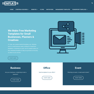 Demplates - Free Marketing Templates for Small Businesses