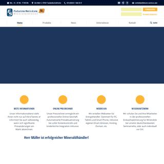 Futures-Services – Mineralölinformationsdienst