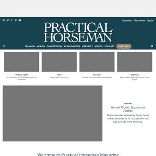 ArchiveBay.com - practicalhorsemanmag.com - Expert how-to for English Riders