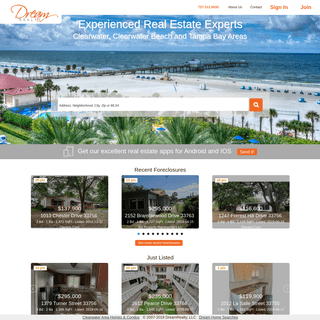 Clearwater Area Real Estate Search Made Simple