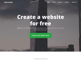 Create a website for free - Jimvoorhies