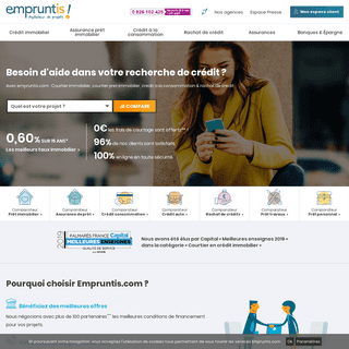 Courtier immobilier, courtier pret immobilier - Empruntis