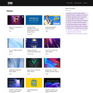 EMI, Loan, Finance and Investment Guides