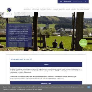 Site officiel de la commune de Libin, province de Luxembourg