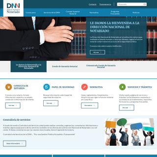 Inicio - Dirección Nacional de Notariado
