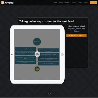 Jumbula solutions for online registration and management software - Jumbula