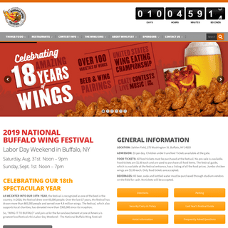 The National Buffalo Chicken Wing Festival
