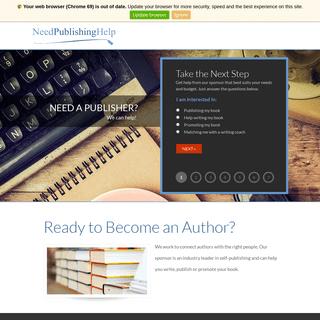 Need Publishing Help-