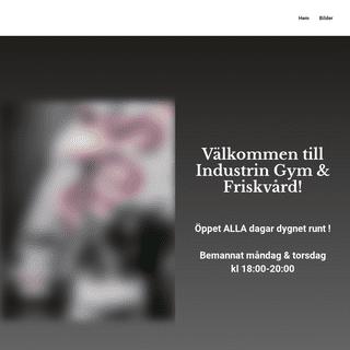 ArchiveBay.com - industringym.se - Industrin Gym & Friskvård - ditt gym i Tillberga