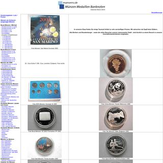 Münzen kaufen - SeBa Berlin