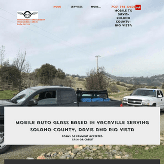 Windshield replacement - Vacaville - 1st Choice AutoGlass