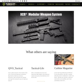 ArchiveBay.com - robinsonarmament.com - HOME - XCR by Robinson Armament Co.