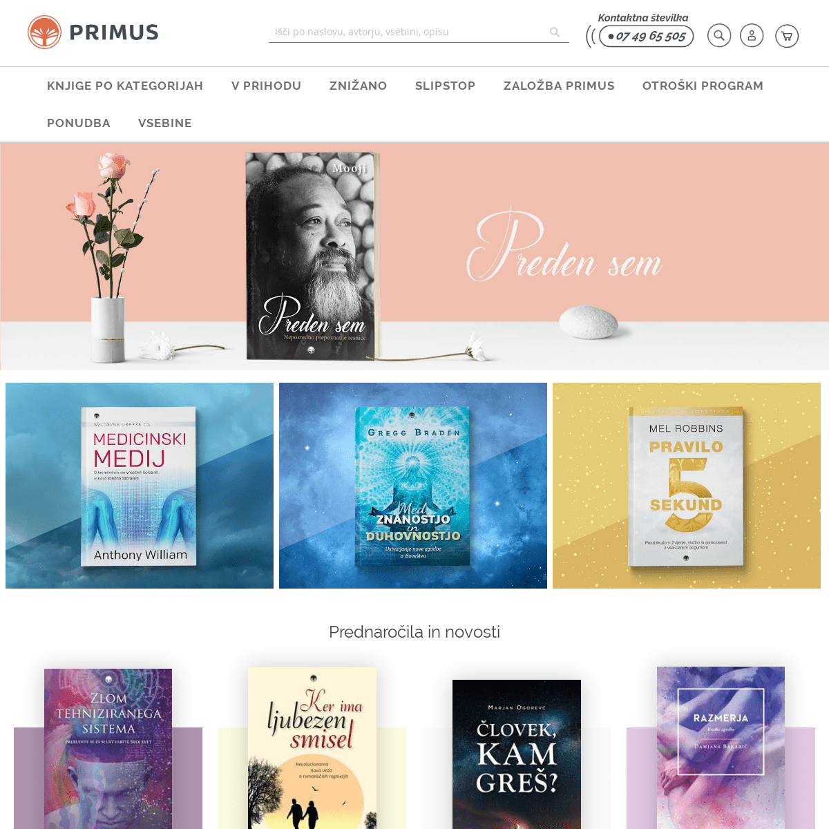 ArchiveBay.com - primus.si - Založba Primus - Spletna knjigarna
