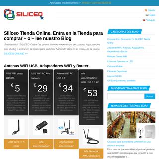 ▷ Silíceo Tienda Online. Entra en la Tienda para comprar - o - lee nuestro Blog