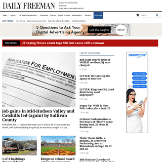 dailyfreeman.com - Your one source for everything local.