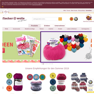ArchiveBay.com - fischer-wolle.de - Wolle & Handarbeiten günstig online kaufen - Fischer Wolle