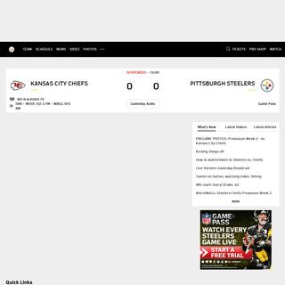Steelers Home - Pittsburgh Steelers - Steelers.com