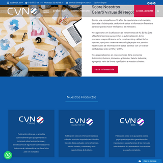 Centro Virtual de Negocios - Información estadística de mercados
