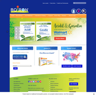 BOIRON USA - World Leader in Homeopathic Medicines