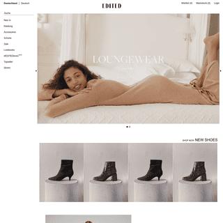 Fashion und Mode bestellen - EDITED Online Shop