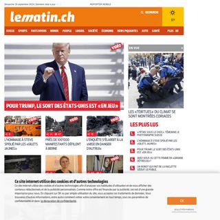 ArchiveBay.com - lematin.ch - Le Matin, l'actualité en direct- Suisse, sports, people, faits divers, politique, économie, techno, auto